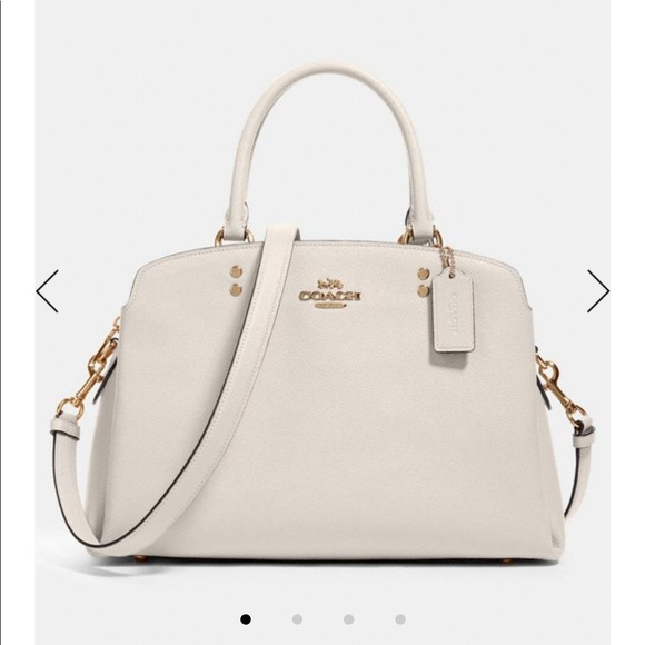 SALE! Coach Lilly Carry All in Neutral Ivory